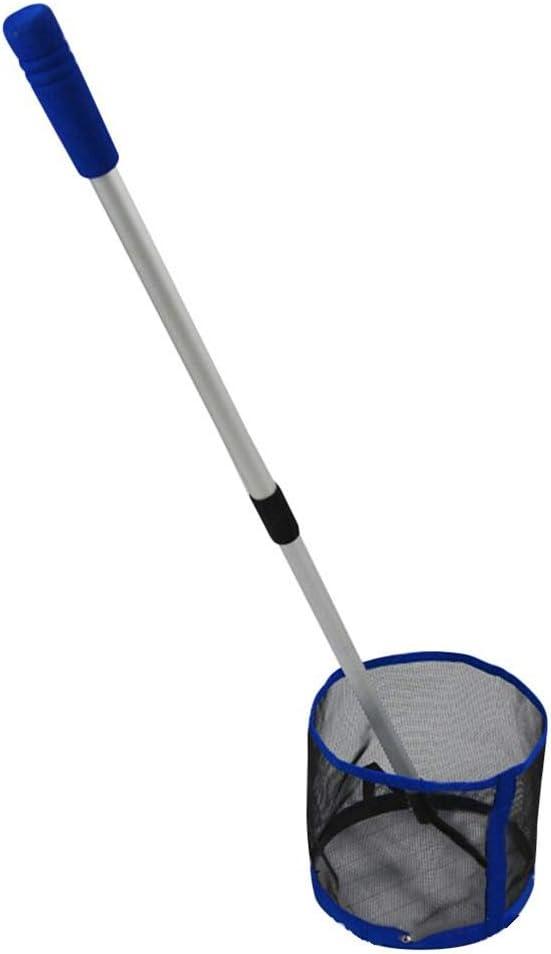 Unknow Selector de Pelotas de Tenis de Mesa con Mango extraíble hasta 125 Pelotas Ahorro de Tiempo Colector de Pelotas Neto Colector de Pelotas de Ping Pong