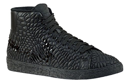 Nike Women's Wmns Blazer Mid DMB, BLACK/BLACK-BLACK, 6 US