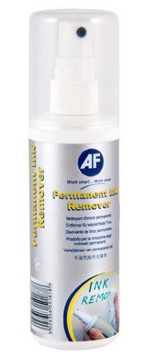 AF Permanent Tinte entfernen Spray für Permanent Marker Stift oder Kugelschreiber von Whiteboards 125ml Ref PIR125