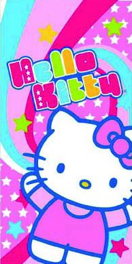 Toalla Hello Kitty 75 x 150 cm
