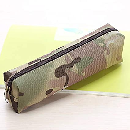 Amazon.com : Camouflage Pencil Pouch Simple Cheap Pencil ...