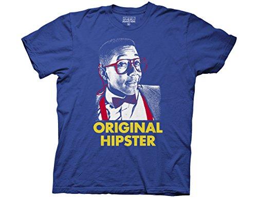 Ripple Junction Family Matters Original Hipster Adult T-Shirt 2XL Multicoloured (Steve Urkel Hipster)