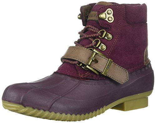 Hilfiger Regin Tommy Women's Boot Snow Burgundy A8xpgwq