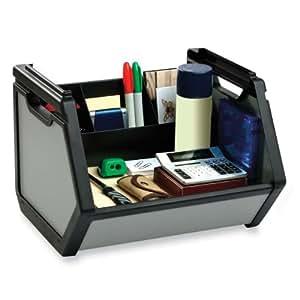 Find It Stackable Storage Bin, 15 Height x 12 Width x 15 Depth Inches, Black (FT07026)