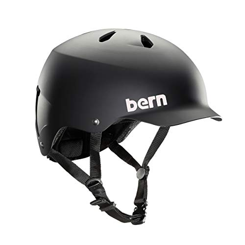 BERN - Summer Watts EPS Helmet, Matte Black, Large