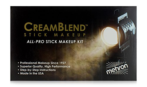 The Young Victoria Costumes (Mehron Makeup All-Pro CreamBlend Makeup Kit Stick OLIVE)