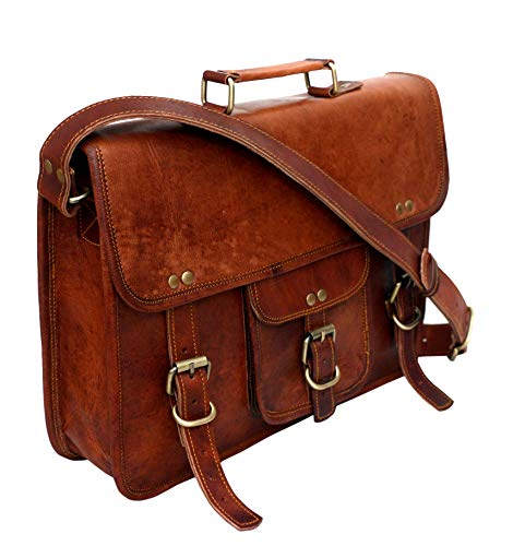 Leather bag Fair Deal / unisex messenger bag / travel bag / satchel bag / laptop bag / travel bag / office bag /  Brown bag