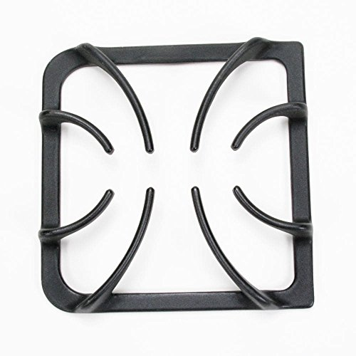 - 316202405 Range Surface Burner Grate Genuine Original Equipment Manufacturer (OEM) Part Black