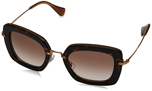 Miu Miu Sunglasses SMU 07O Havana KAZ0A6 - Miu Eyewear 2016 Miu