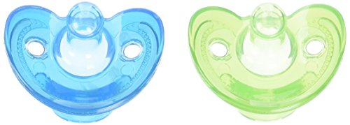 First Years 2 Count Newborn Gumdrop Silicone Pacifier (The First Years Pacifier Clip)