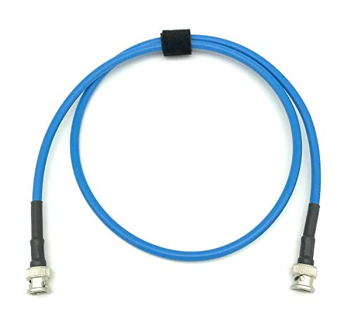 AV-Cables 3G/6G HD SDI BNC RG59 Cable Belden 1505A - Blue (300FT)