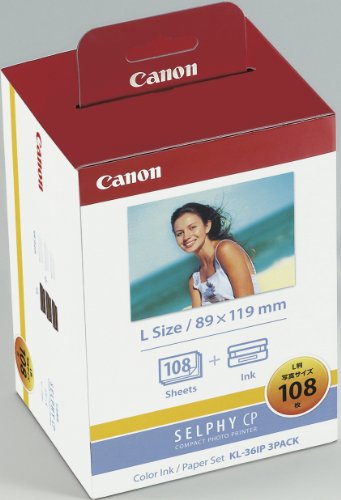Price comparison product image Canon ink KL36IP3PACK