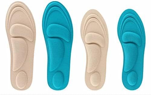 Foot Pain Relief Memory Foam Insole Designed for Aching,Swollen,Diabetic or Sore Arthritic Feet for Women
