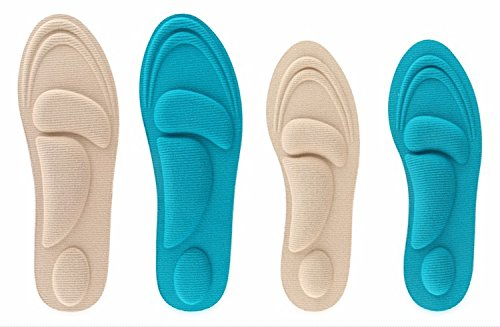 Foot Pain Relief Memory Foam Insole Designed for Aching,Swollen,Diabetic or Sore Arthritic Feet for Women