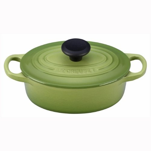 - Le Creuset Signature Cast Iron 1-quart Oval French Oven