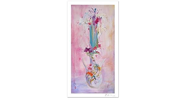 Reproducción de arte - Love never ends - sobre papel de acuarela ...