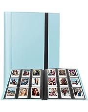 432 Pockets Photo Album for Fujifilm Instax Mini Camera, Polaroid Snap Snap Touch PIC-300 Z2300 Instant Camera, Instax Mini Album for Fujifilm Instax Mini 11 90 70 9 8+ 8 LiPlay Instant Camera (Blue)