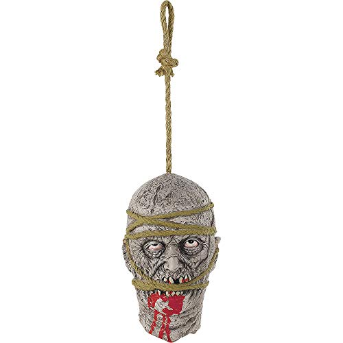 amscan Hanging Zombie Head -