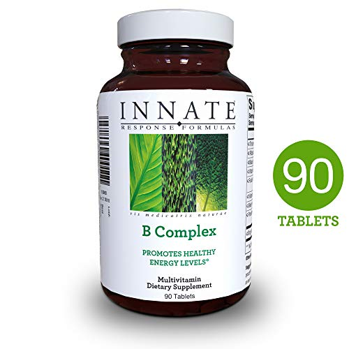 INNATE Response Formulas - B Complex, Promotes Energy and Health of the Nervous System, 90 Tablets