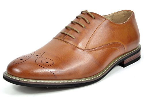 MARC Classic Leather Perforated Oxfords