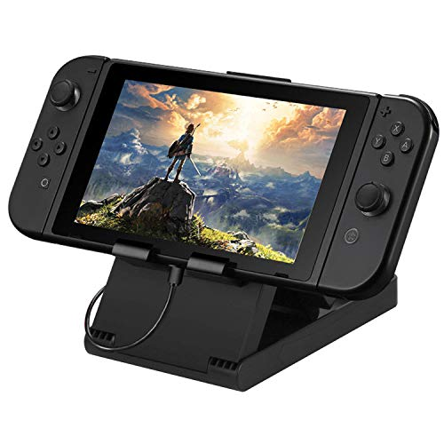 Stand for Nintendo Switch Compact Foldable Multi Angle Holder Play Stand Compatible with Nintendo Switch Switch Lite IPad iPhone Samsung Galaxy Tab Android Phones Tablets E-Reader