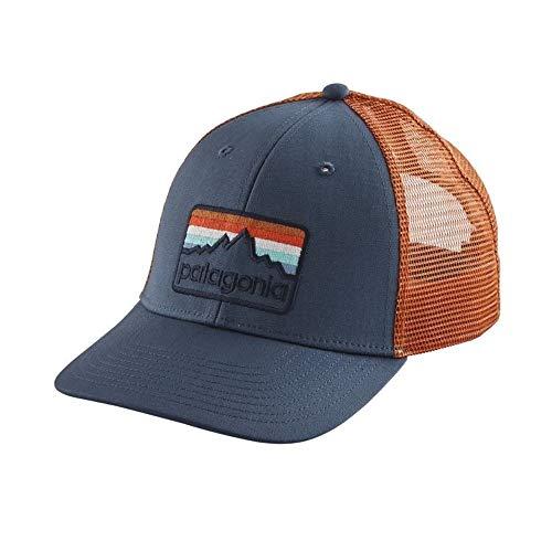 Patagonia Line Logo Badge LoPro Trucker Hat (Dolomite Blue)