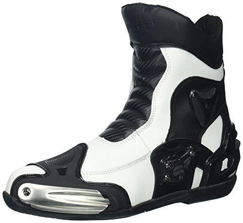 Joe Rocket Men's Superstreet Boots (White, Size 11)