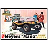 """#scm006 AMT The Original Meyers """"Manx"""" Dune Buggy, Auto World Exclusive ,Molded in Purple 1/25 Scale Plastic model Kit,Needs Assembly"""