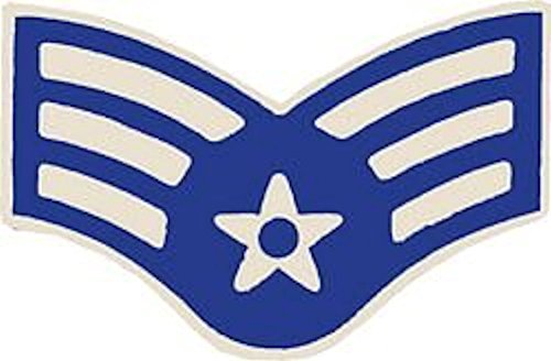(U.S. Air Force E-4 Senior Airman Small Hat Pin)