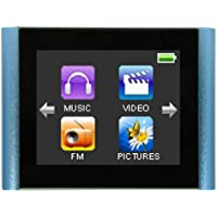 Eclipse T180 BL 1.8-Inch 4 GB Touchscreen MP3 Video Player (Blue)