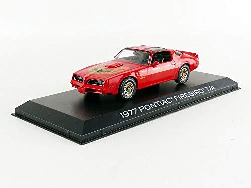 - Greenlight 86330 1:43 1977 Pontiac Firebird Trans Am - Firethorn, Red