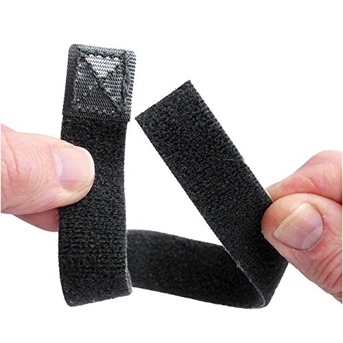 CMCcare Thumb Brace – Replacement Straps Black Pack of 3 by Basko Healthcare (Image #3)