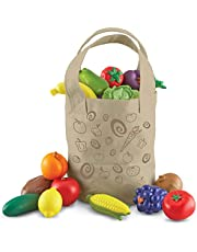 Learning Resources Fresh Picked Fruit And Veggie Tote (packaging may vary)