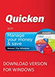 lntuit Quicken Deluxe 2017 (DOWNLOAD) Windows version Personal Finance & Budgeting Software