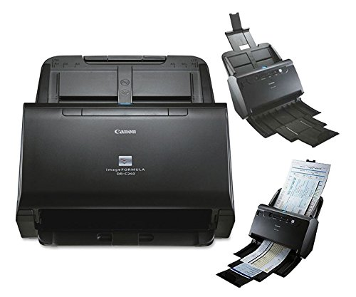 Canon USA 0651C002 Dr-C240 Office Document Scanner 50 Sheet Feeder 45PPM Black & White