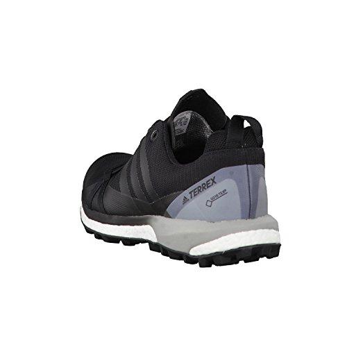 Adidas Terrex Agravic GTX W, Scarpe da Escursionismo Donna, Nero (Negbass/Ftwbla), 38 EU