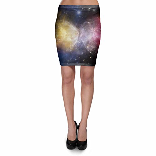 Galaxies Meeting Bodycon Skirt Rock XS-3XL