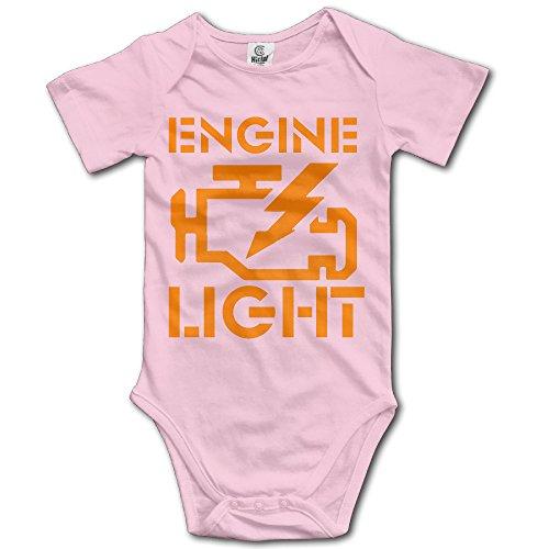 Check Engine Light Funny Jdm Car Infant Baby Toddler Onesie Bodysuit 12 Months ()