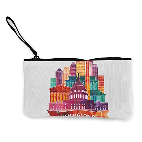 Terany Canvas Pencil Case - Washington DC Durable