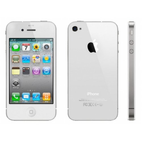 Apple iPhone 4S 16GB Unlocked GSM World Smartphone w/ Siri and iCloud - White