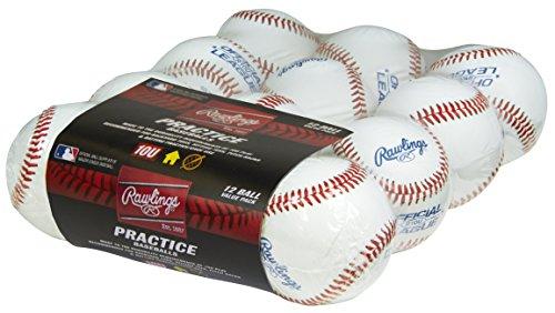 Rawlings Game Play Baseballs, Youth (10U), (Box of 24), R10USW2-24 by Rawlings