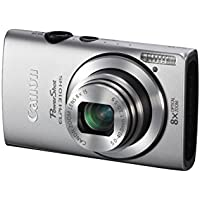 Canon PowerShot ELPH 310 HS 12.1 MP CMOS Digital Camera with 8x Wide-Angle Optical Zoom Lens and Full 1080p HD Video (Silver)(Certified Refurbished)