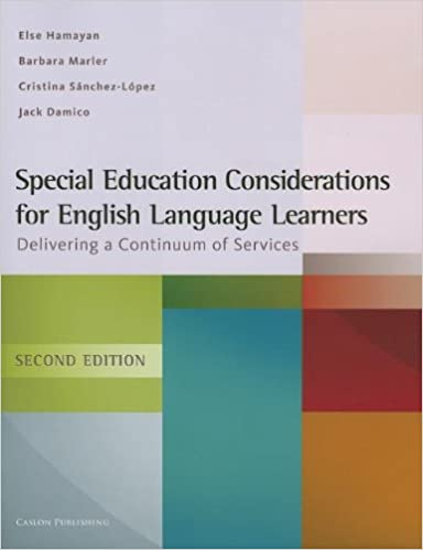 How Language Of Special Education Is >> Amazon Com Special Education Considerations For English Language