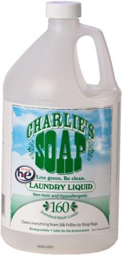 Charlie's Soap Laundry Liquid - 1 Gal Jug - (160 Loads)