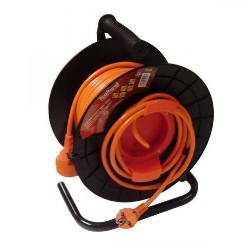 Enrouleur Devidoir  Cable Electrique Rallonge M W Pro Jardin
