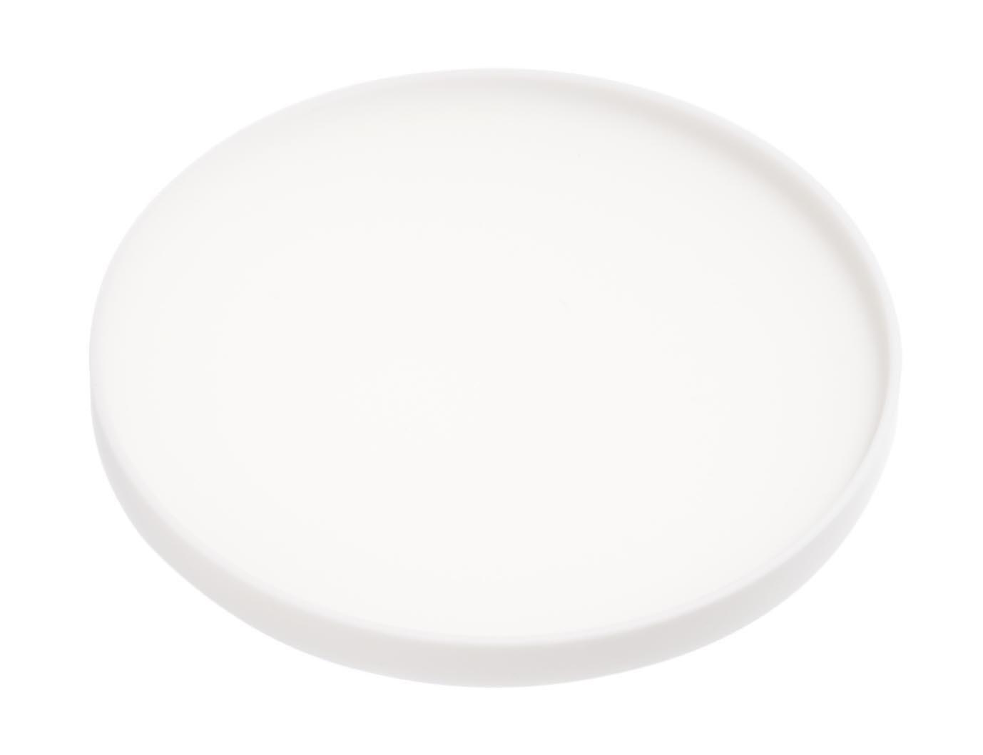 YAMAZAKI home Tower Silicone Coaster Round White