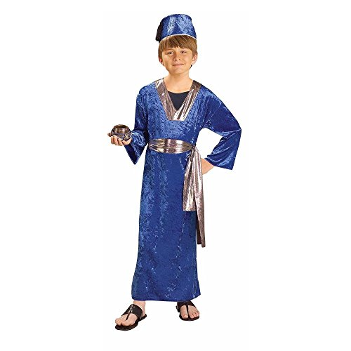 Biblical Times Blue Wiseman Child Costume, Medium
