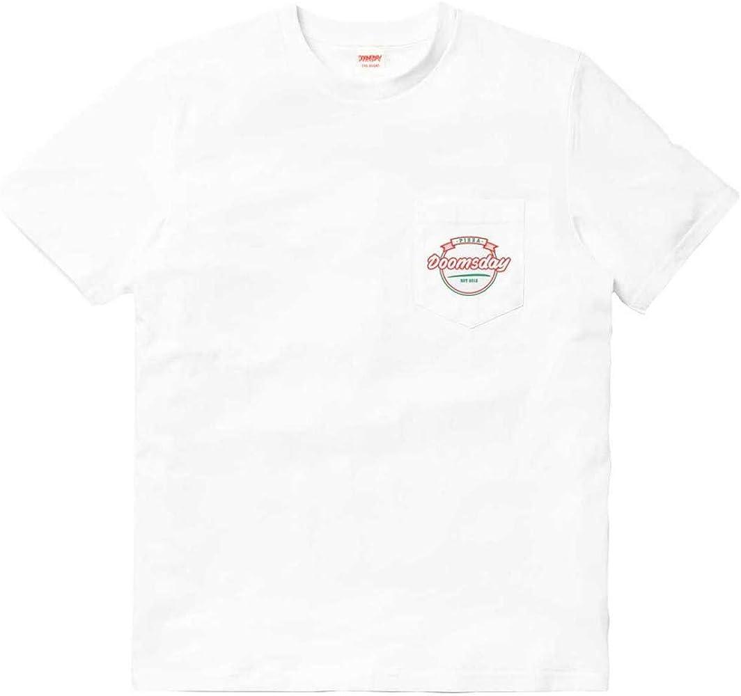 DOOMSDAY T-Shirt Maniche Corte UOMO Italian Affair 2 T-Shirt White M: Amazon.es: Ropa y accesorios