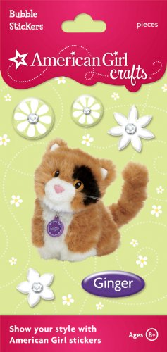 American Girl Crafts Bubble Stickers, Ginger -