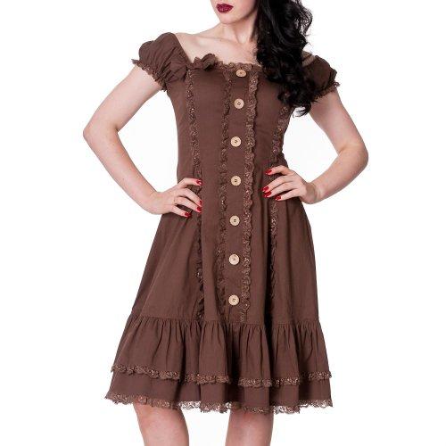 Spin Doctor - Vestido - para mujer marrón